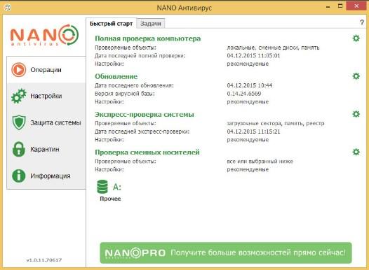 NANO Антивирус